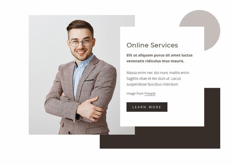 Data analysis services Website Design