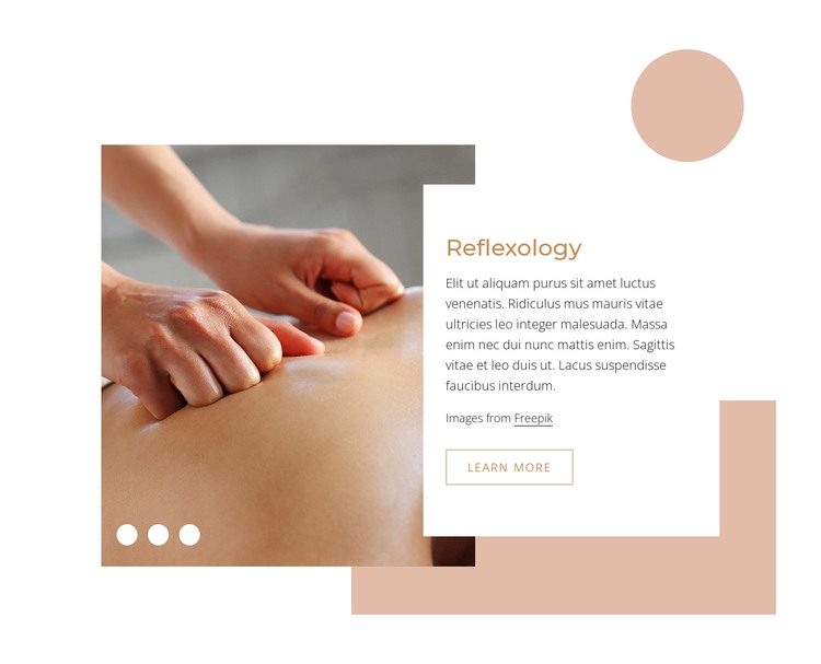 Reflexogy massage therapy WordPress Theme