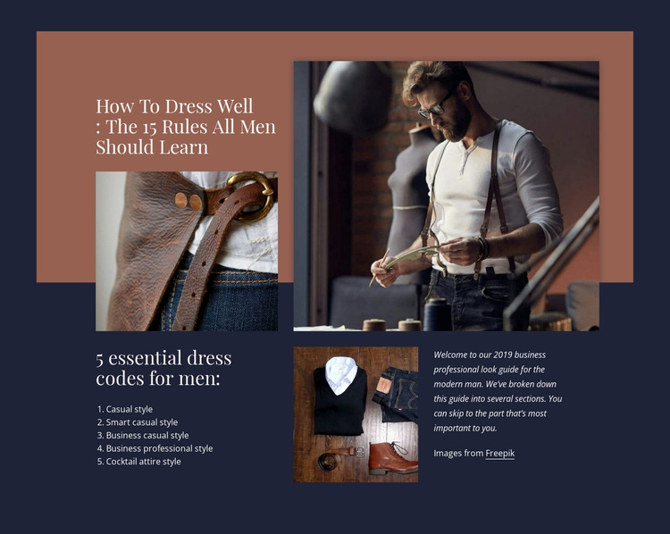 Сlothing development Website Design