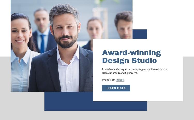 Award winning design studio Joomla Page Builder