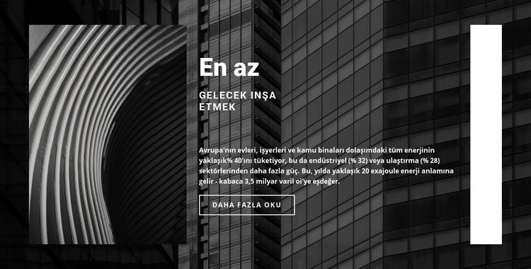 Dayanmak için inşa ediyoruz Web Sitesi Şablonu