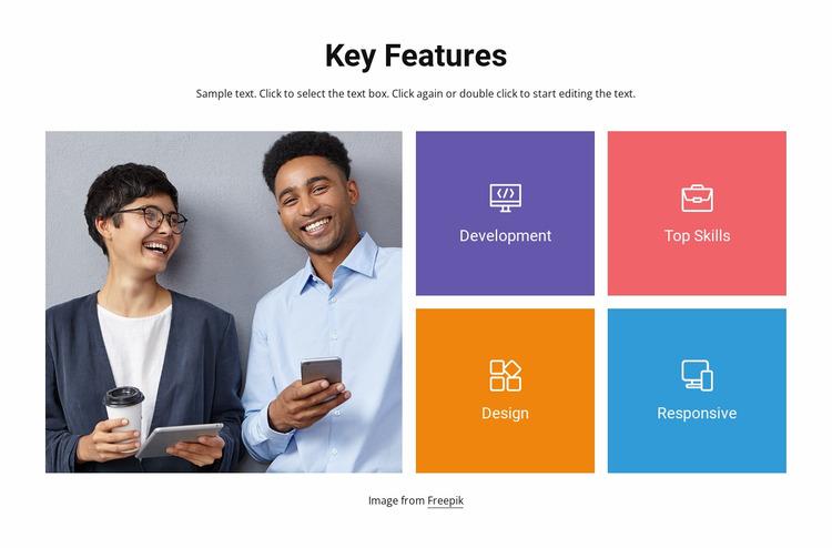 Design and development Html Website Builder