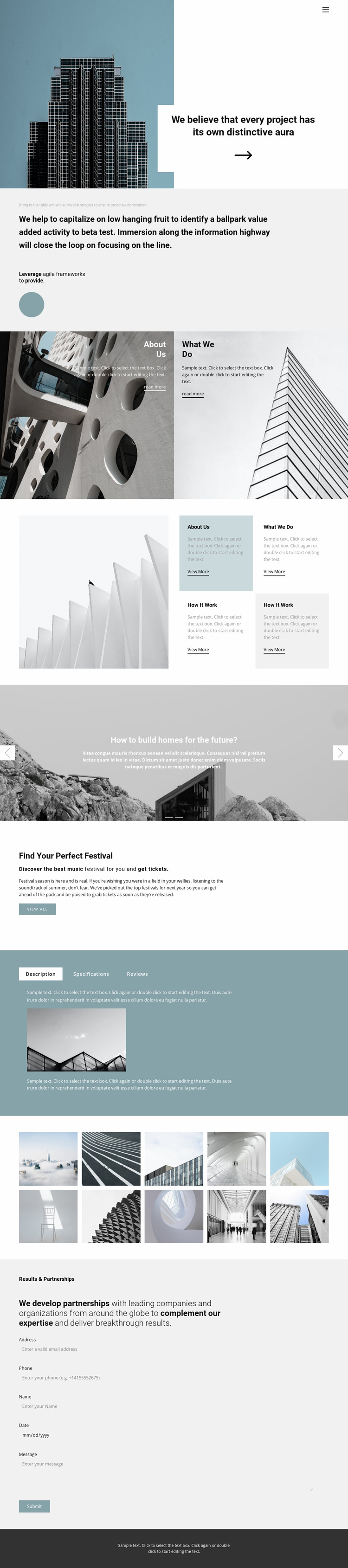 Choose an office for yourself Website Template