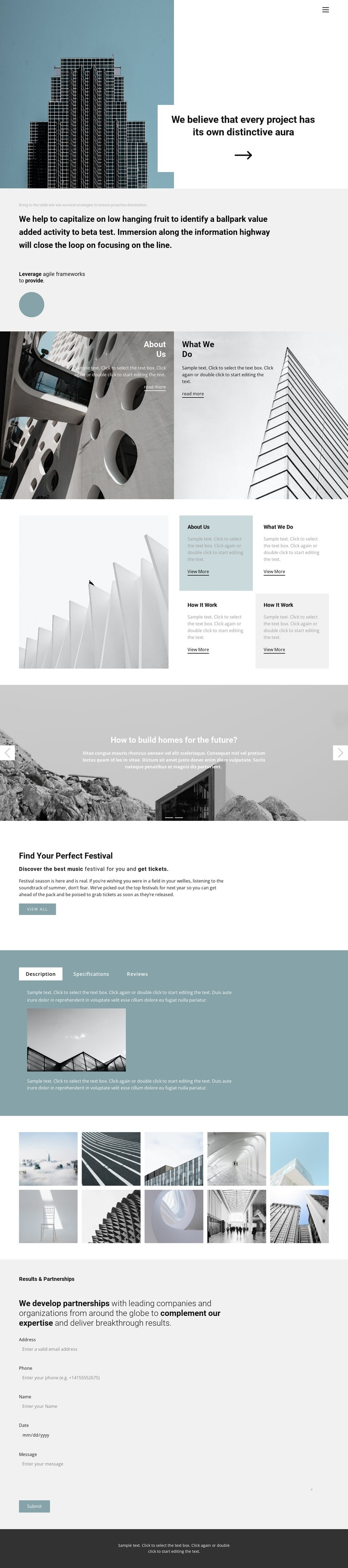 Choose an office for yourself WordPress Template