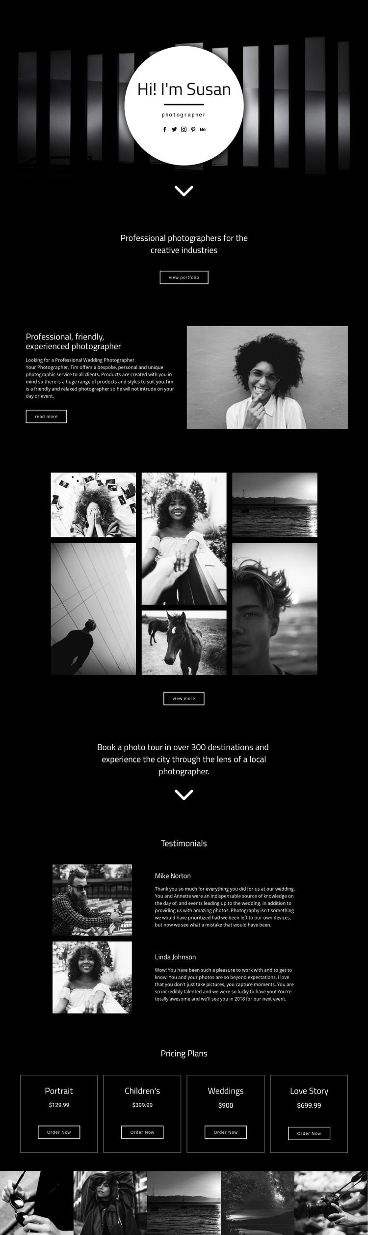 Your Photographer Static Site Generator