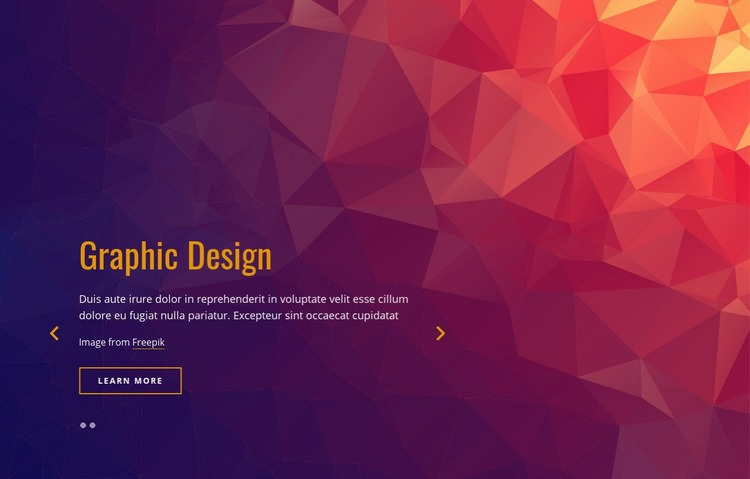 Brand and marketing strategy Web Page Design