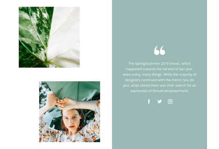 Feedback from our client HTML Template
