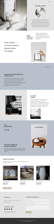 Zaprojektuj swój dom od podstaw Szablon witryny sieci Web