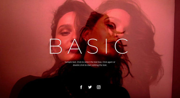 Base unit One Page Template