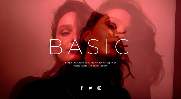 Base unit Web Page Designer