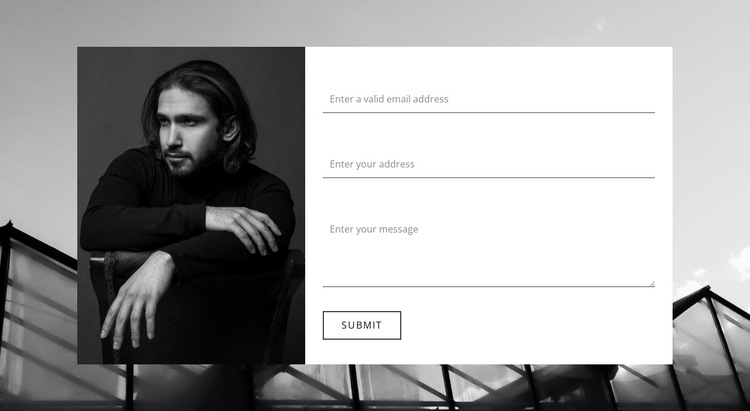 Clarify all information HTML5 Template