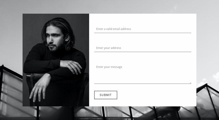 Clarify all information Website Design