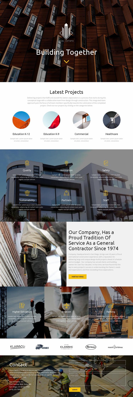 Building Website Design