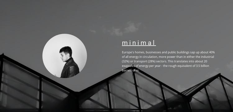 Minimum solutions maximum result HTML Template