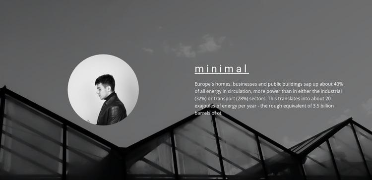 Minimum solutions maximum result Html Website Builder