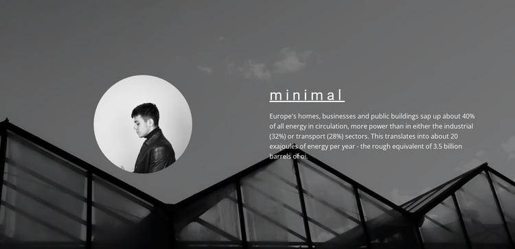Minimum solutions maximum result Joomla Template