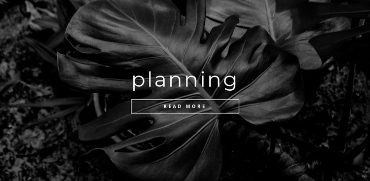 Planning your time Website Template
