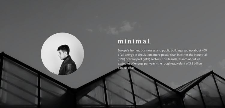 Minimum solutions maximum result WordPress Theme