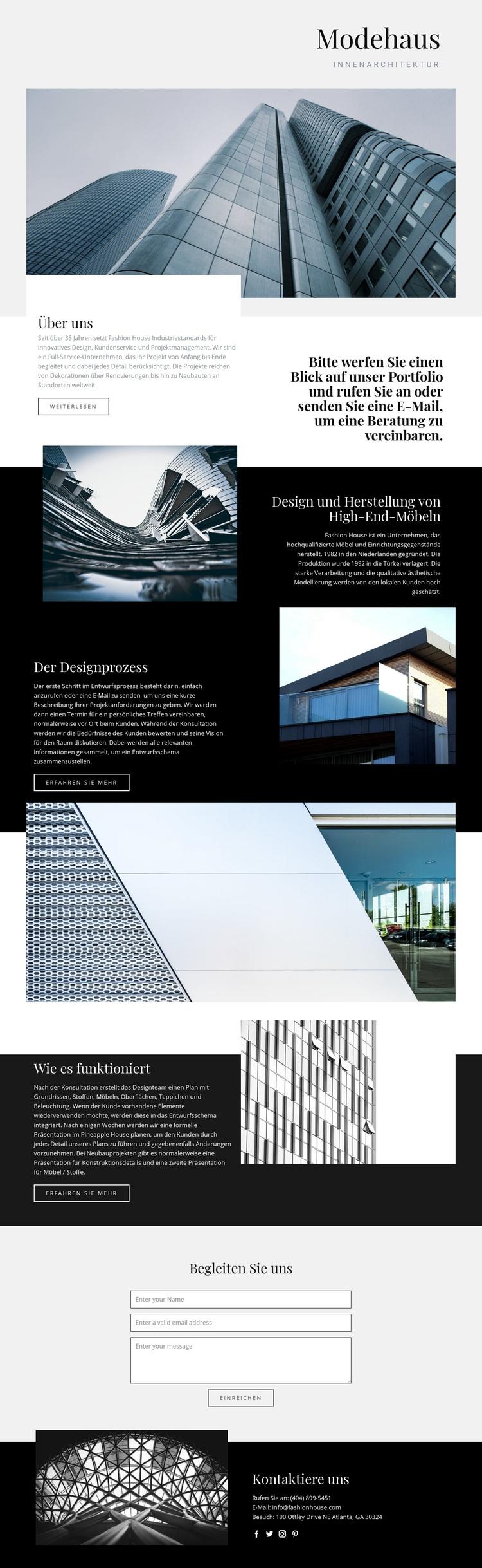 Modehaus WordPress Theme