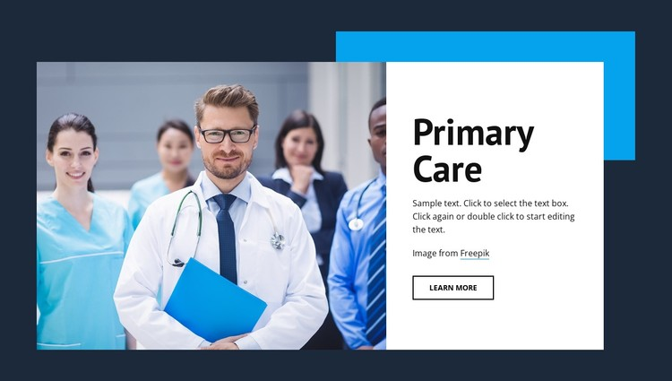 Primary medical care CSS Template
