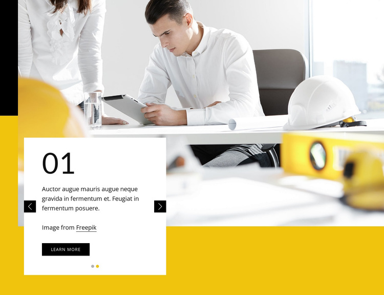 We create embedded architecture HTML5 Template