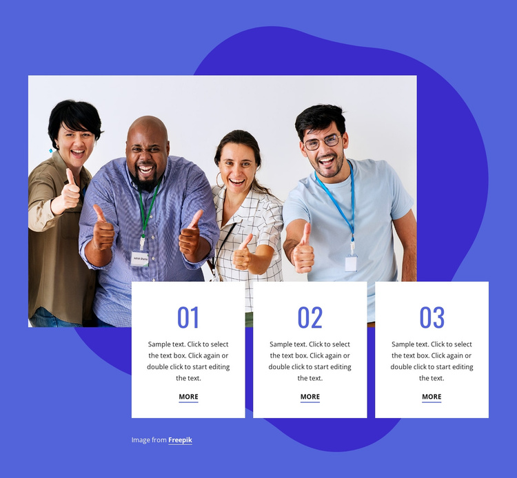 Awards and recognition Joomla Template