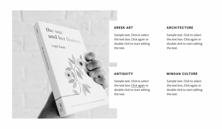 Literature for teaching Landing Page