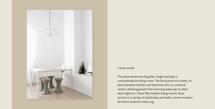 Exclusive furniture Web Page Designer