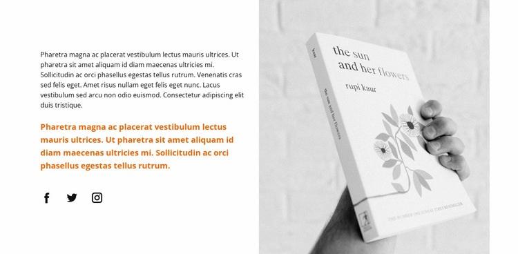 New literature Web Page Designer
