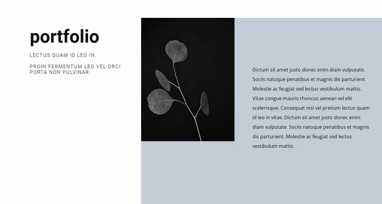 Creative designer resume Website Template