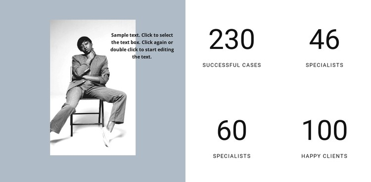 Success of our fashion agency CSS Template