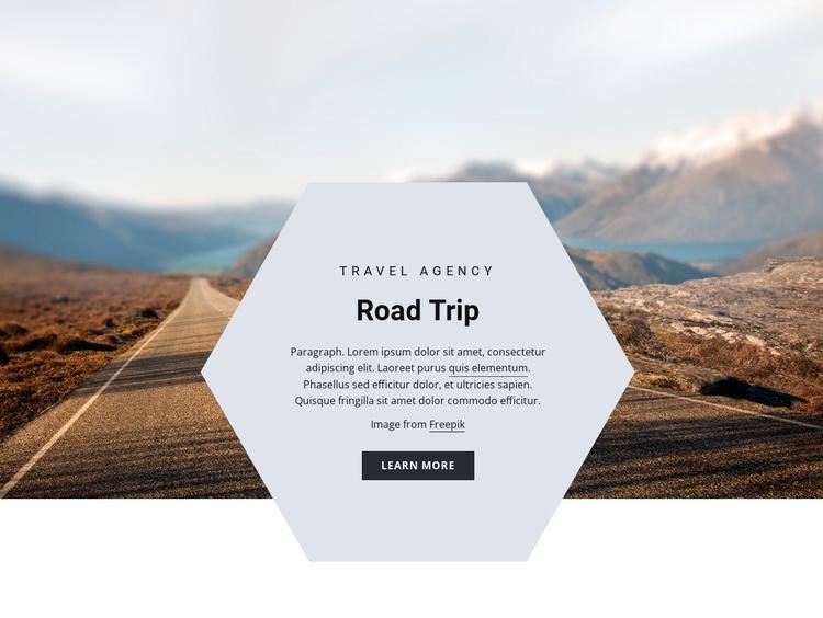 Road trip Joomla Template