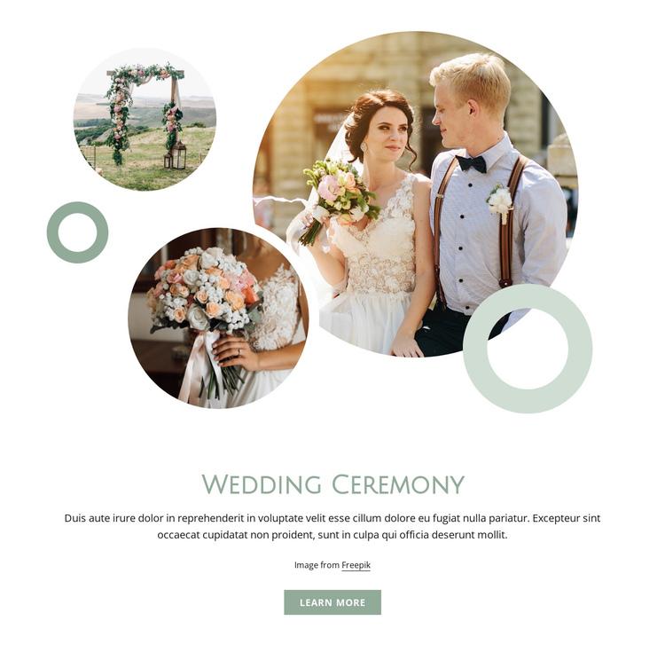Wedding ceremony Website Builder Software