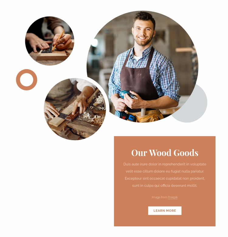 Welcome to my workshop Website Template