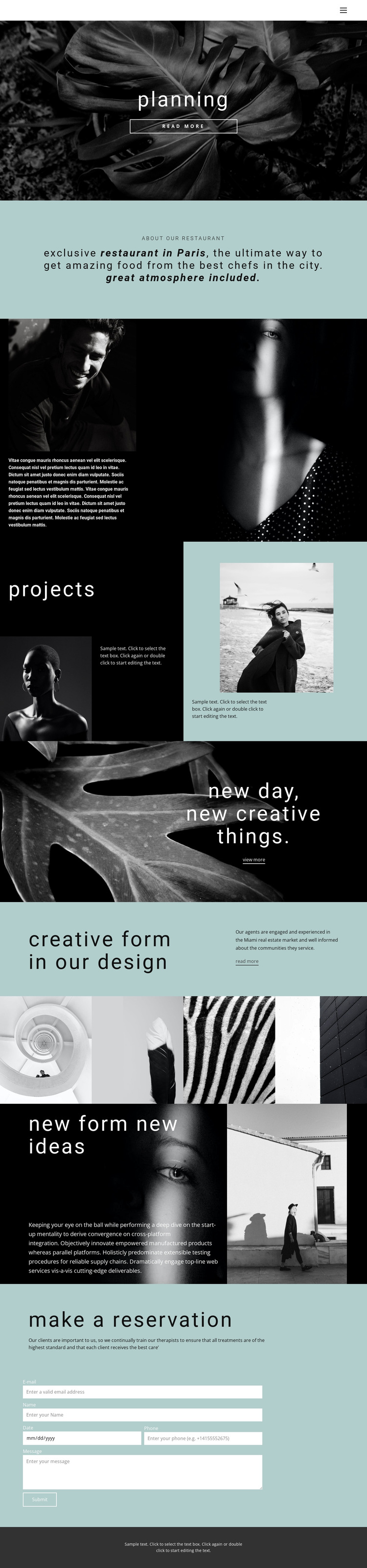 All about creative design HTML5 Template