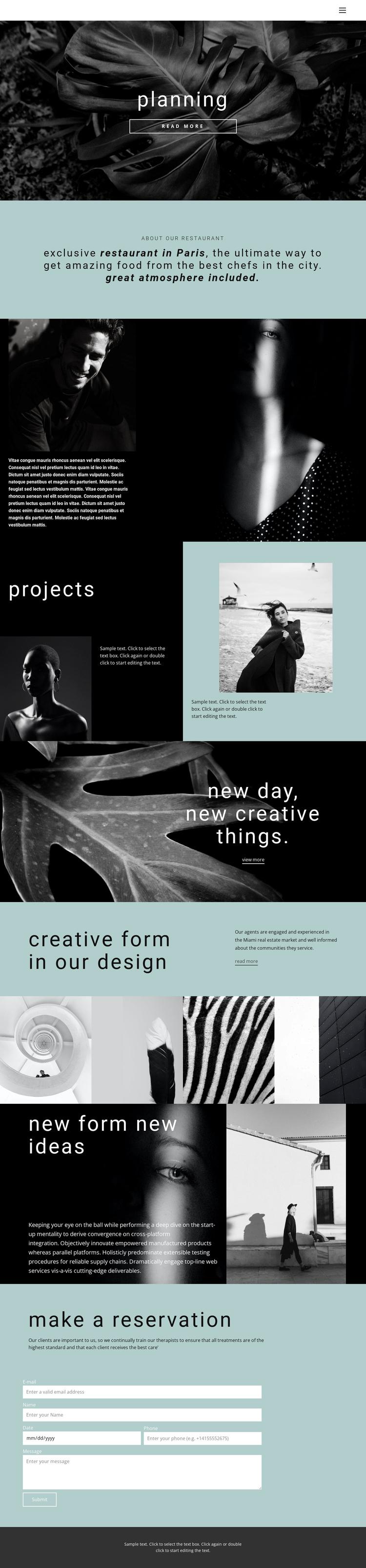 All about creative design Website Builder Software