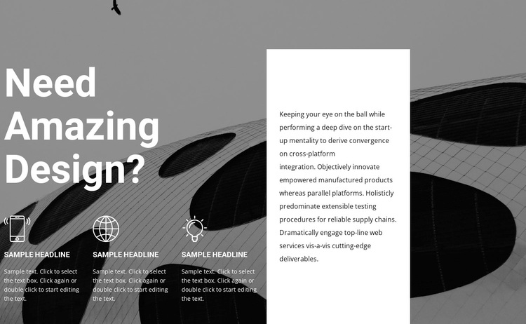 Design and style services Template