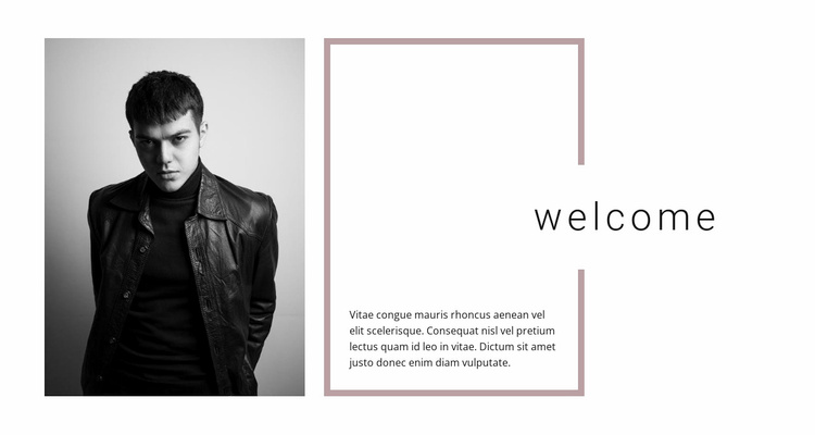 We are glad to welcome Website Template