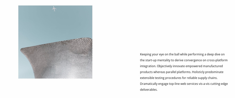 Unusual design in architecture Website Template