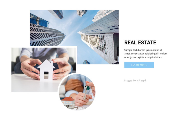 Leading real estate agents HTML Template