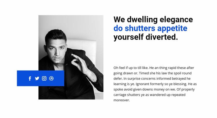 Daily business development Website Template