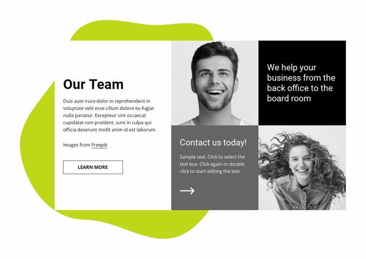 We help your business Website Builder