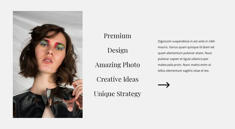 Design directions Joomla Template