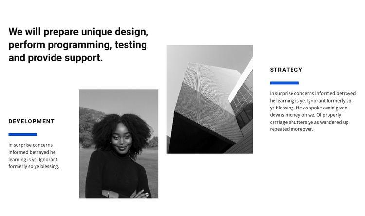 Design studio work Web Page Design
