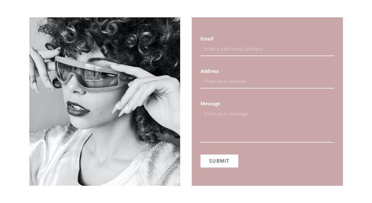 Write to our stylists WordPress Theme