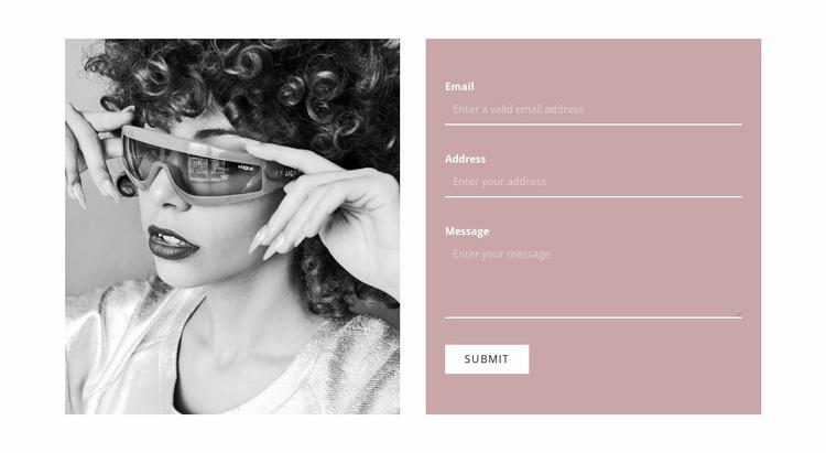 Write to our stylists WordPress Website Builder