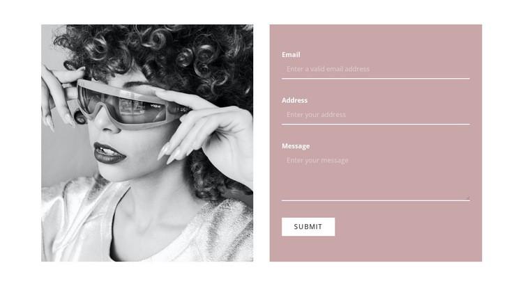 Write to our stylists WordPress Website