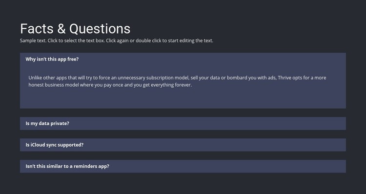Facts and questions WordPress Website