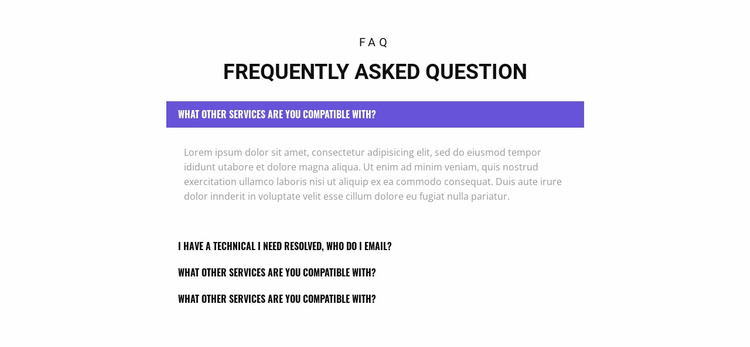 Check out popular questions Landing Page