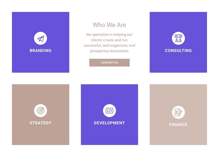 Directions of our company HTML5 Template